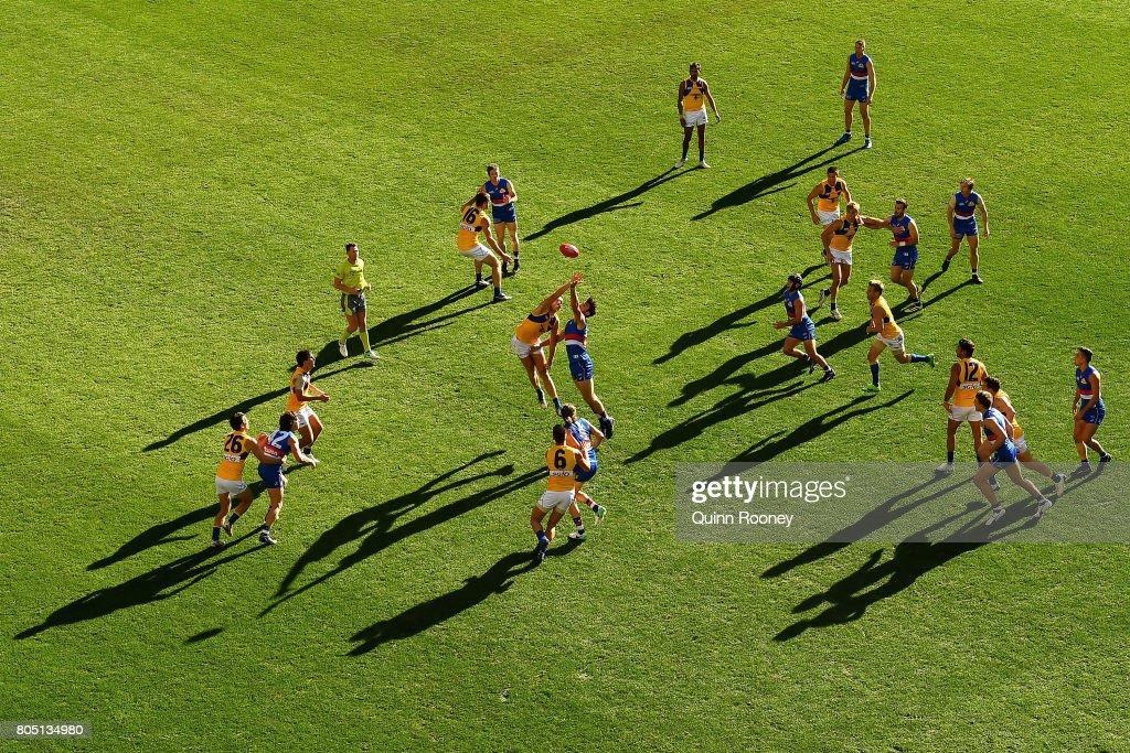 AFL Rd 15 - Western Bulldogs v West Coast
