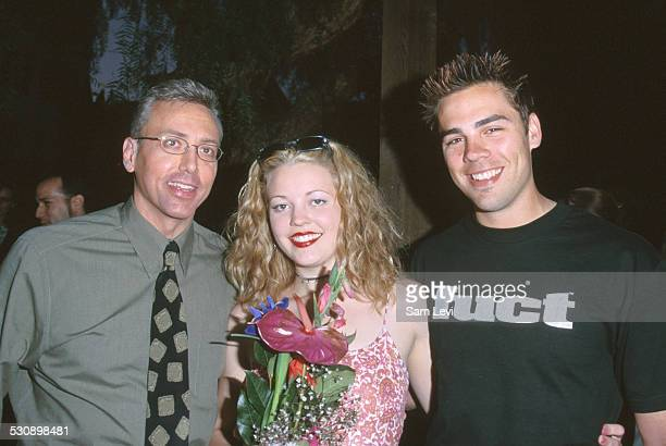 Drew Pinsky, Laurel Winslet, & Ian Ford during Dr. Drew.com Launches Internet Show Drive Me Crazy at House of Blues in Los Angeles, California,...
