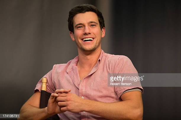 """Drew Roy from """"Falling Skies"""" at the Movies On Demand Lounge at Hard Rock Hotel San Diego on July 20, 2013 in San Diego, California."""