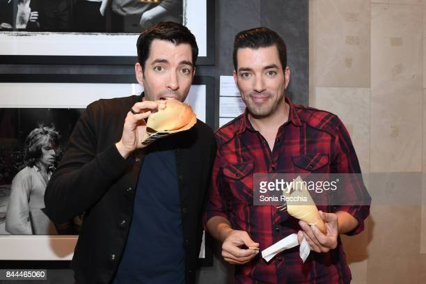 Drew Scott and Jonathan Scott attend NKPR IT House x Producers Ball With Nylon Magazine and Coveteur Portrait Studios Day 2 on September 8 2017 in...