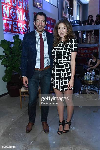 Drew Scott and Lauren Hammersley attend W Magazine NKPR IT House x Producers Ball Studio on September 7 2016 in Toronto Canada