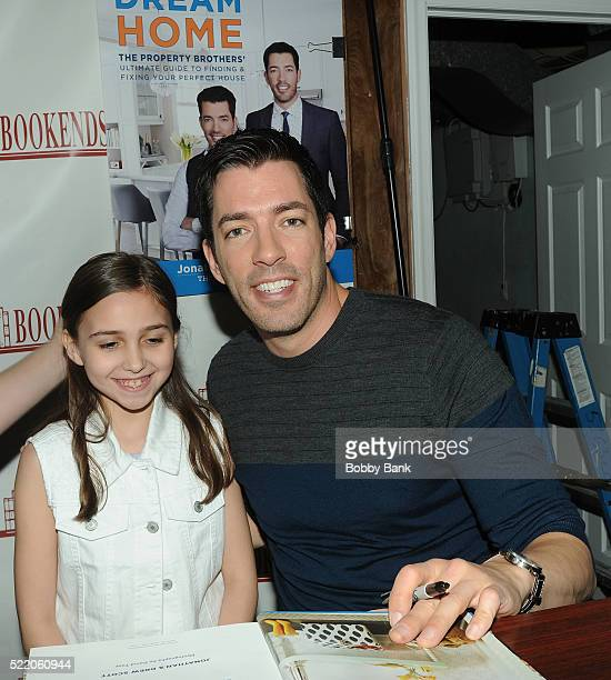 Drew Scott Of The Show Property Brothers With Fan Attends Jonathan