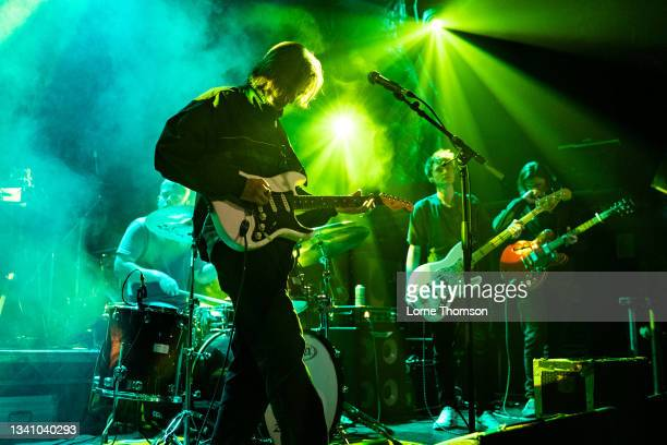 Drew Selby of Rosellas performs at O2 Academy Islington on September 17, 2021 in London, England.