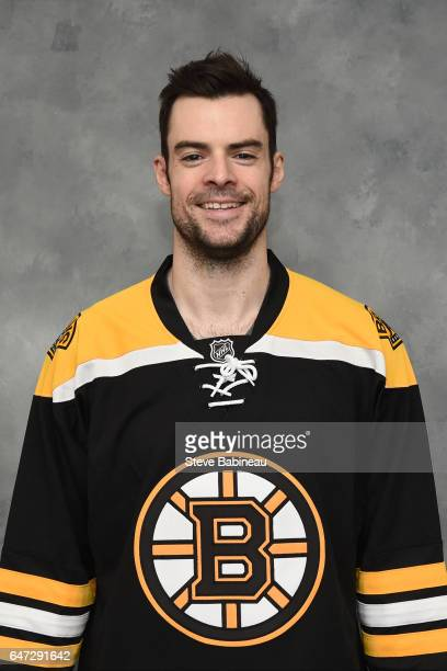 Drew Stafford of the Boston Bruins poses for his official headshot of the 20162017 season before the game against the New York Rangers at the TD...