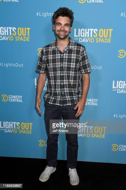 Drew Tarver attends Comedy Central's Lights Out With David Spade new latenight series premiere party at Nightingale Plaza on August 01 2019 in Los...