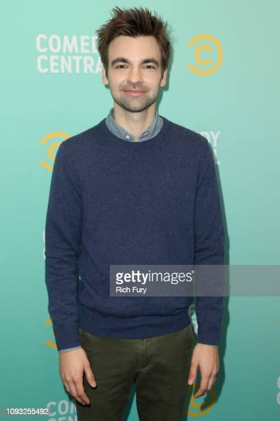 Drew Tarver attends the Comedy Central press day at Viacom Building on January 11 2019 in Los Angeles California