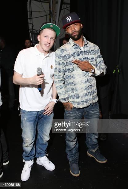 Drewski and Joe Budden visits 106 Park at BET studio on July 9 2014 in New York City