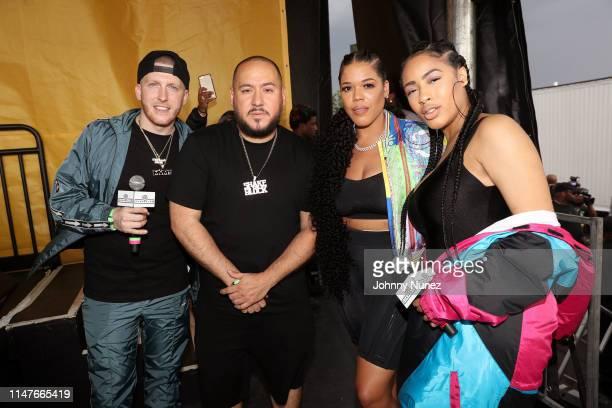DJ Drewski Bobby Trends TT Torrez and Mia Belle attend Summer Jam 2019 at MetLife Stadium on June 2 2019 in East Rutherford New Jersey