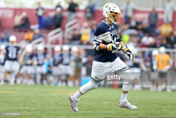 Drexel Dragons Matt Klinges in action during the CAA Championship game between Drexel Dragons and Towson Tigers on May 4 at Garber Field in Amherst MA