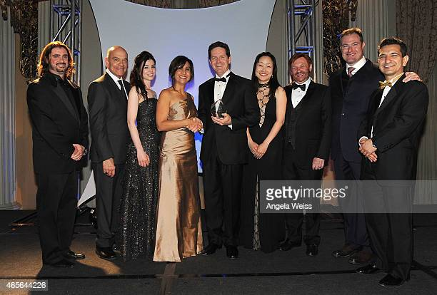 DrHarry Kloor Member of the Gala CommitteeChemist and Physicis producer Robert Picardo Rayna Napali Drs Shouleh Nikzad NASA/JPLphysicist Past...