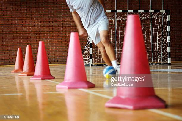 dribbling - cone shape stock photos and pictures