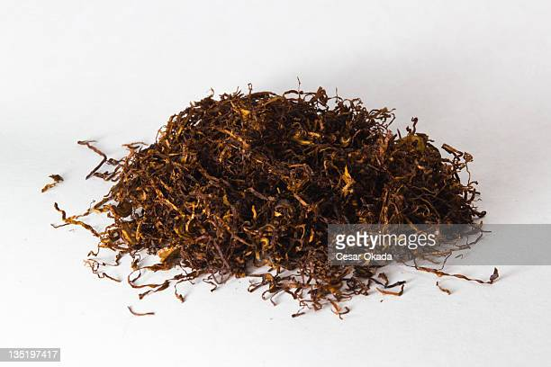 Dried and cut tobacco