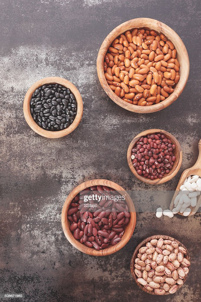 Dried beans : Stock Photo