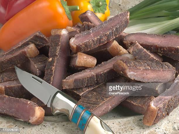 Getrocknetes Rindfleisch