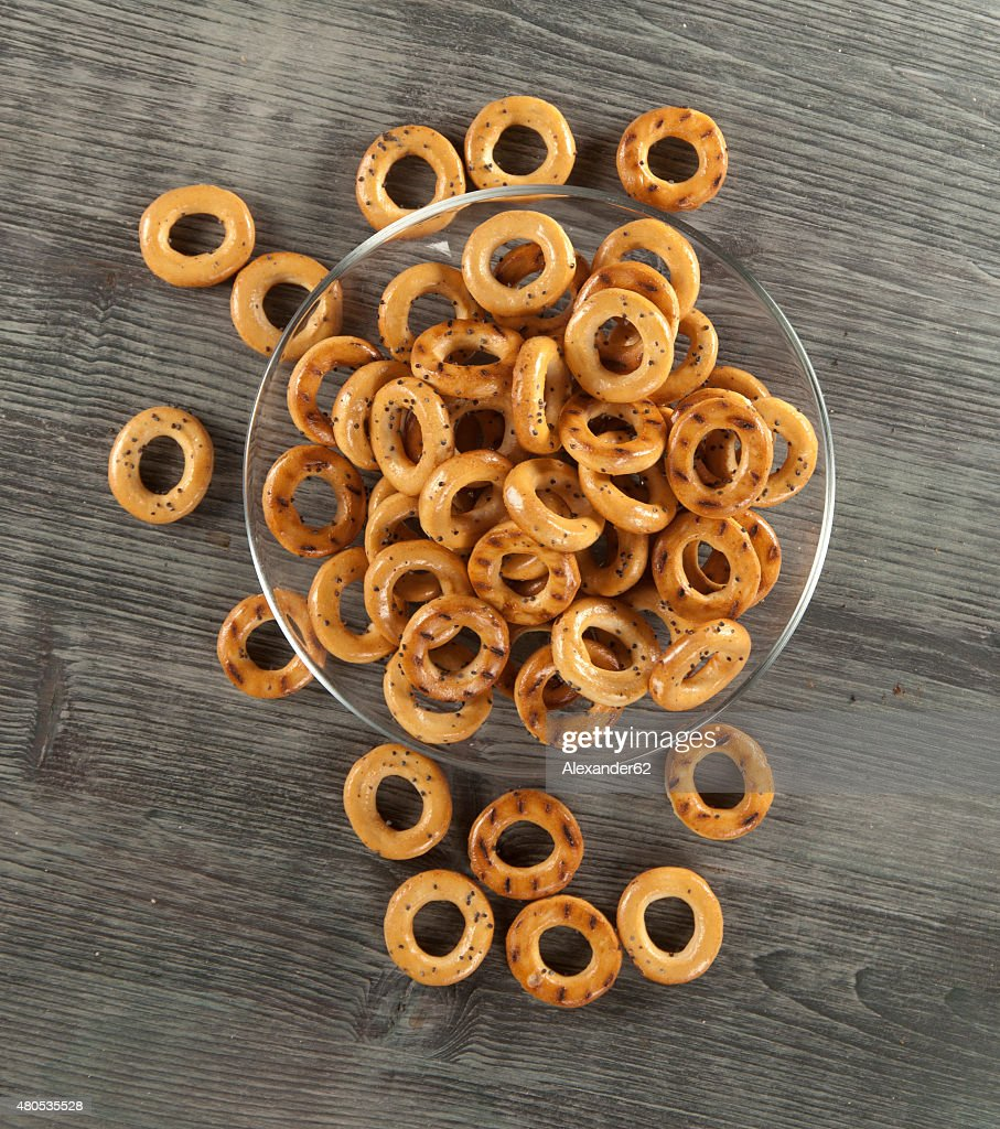Dried biscuits : Stock Photo