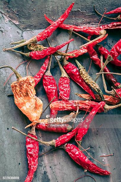 Dried chili pods