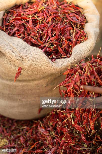 dried chillies, sri lanka - lanka stock pictures, royalty-free photos & images
