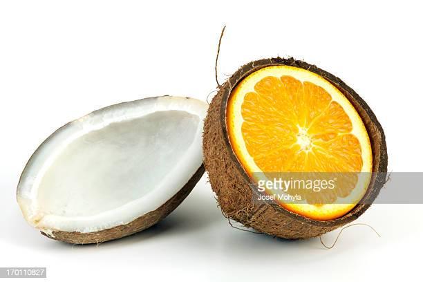 Dried Coconut and Orange