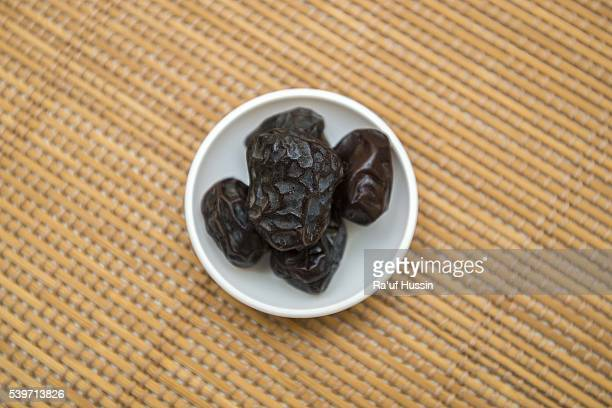 Dried date palm fruits or kurma, Popular During Ramadhan or Fasting Month.
