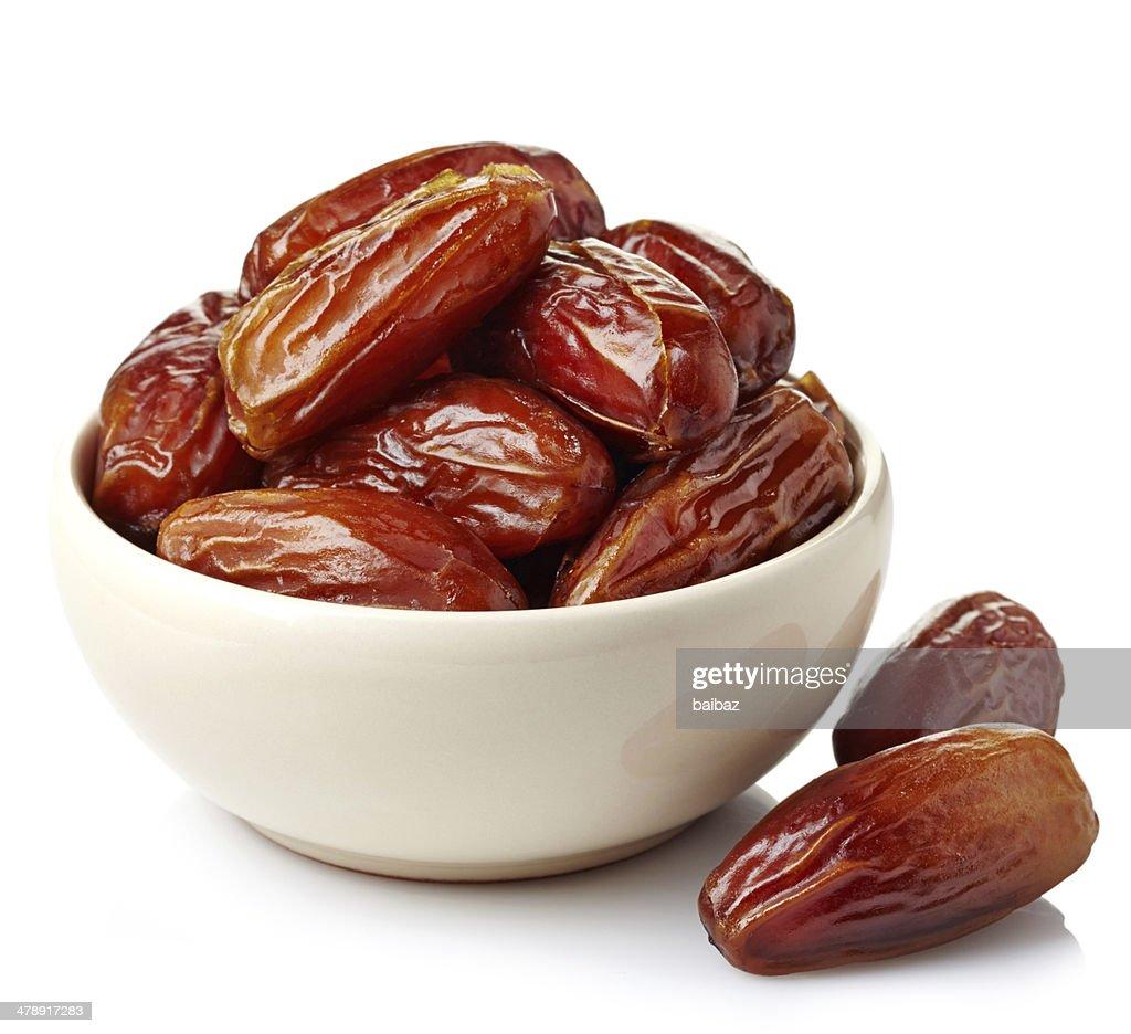 Dried dates : Stock Photo