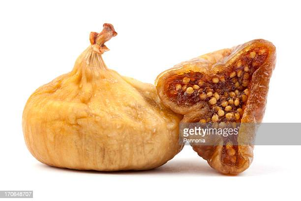 Dried Figs Isolated on White
