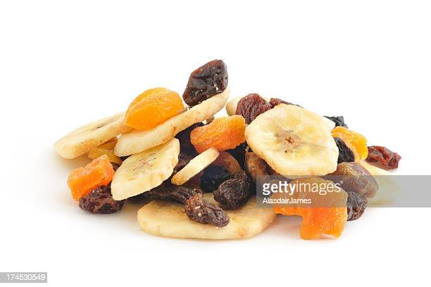 dried fruit pile - dried food stock pictures, royalty-free photos & images