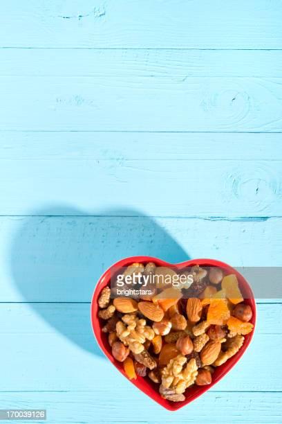 Noix et de fruits secs
