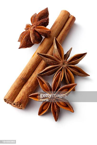 Dried Herbs and Spices: Cinnamon, Anise