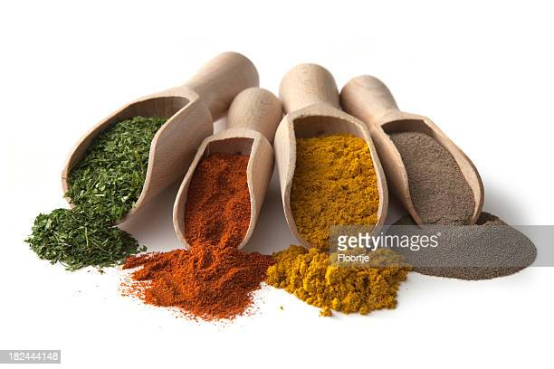 Dried Herbs and Spices: