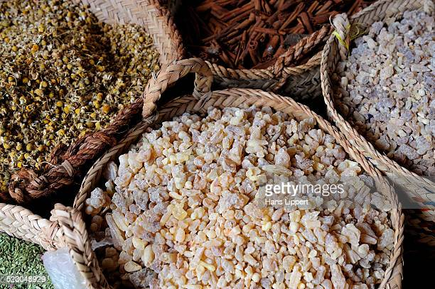 Dried Incense, spice souk, Dubai, United Arab Emirates, Arabia, Middle East, Orient