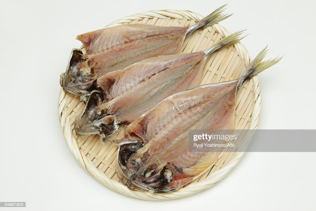Dried Mackerel : Stock Photo