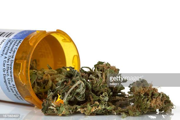 dried marijuana used for medicinal purposes - medical cannabis stock photos and pictures