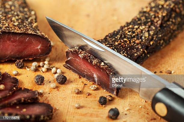 Getrocknete Fleisch