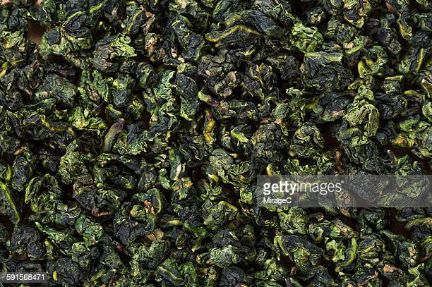 dried oolong tea - miragec stock pictures, royalty-free photos & images