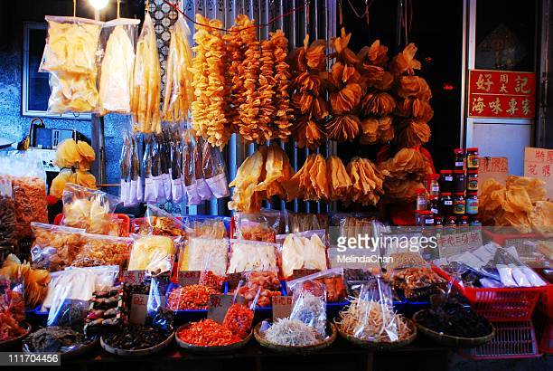 dried seafood - lantau stock pictures, royalty-free photos & images
