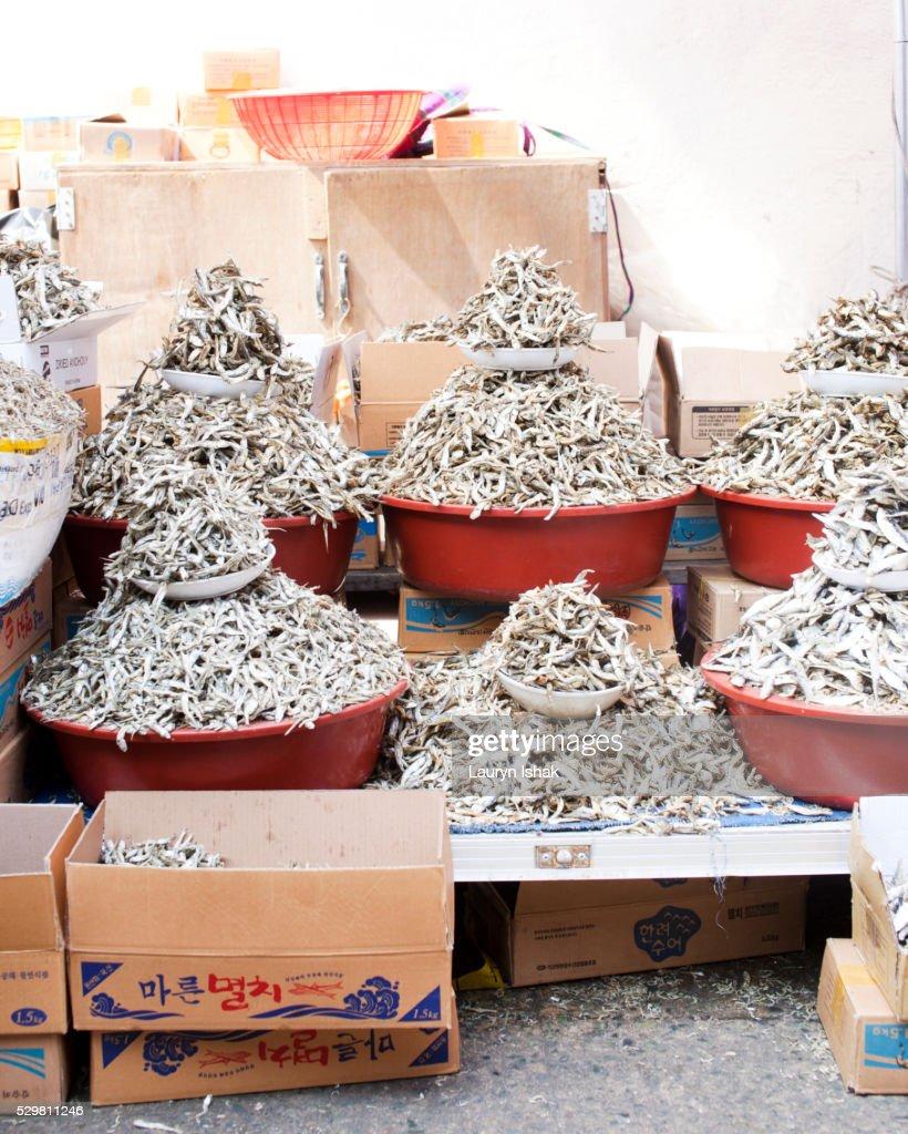 Dried Seafood : Stock Photo
