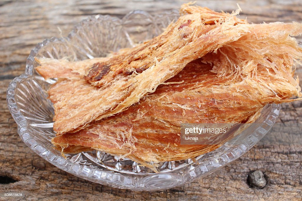 Dried shredded pork chinese food : Stock Photo