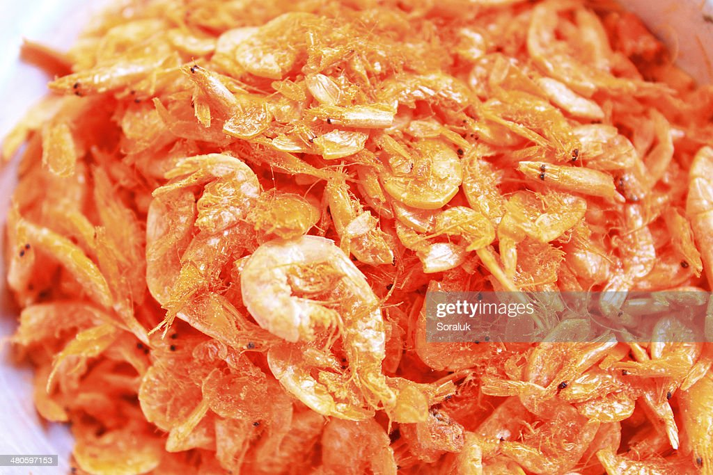 Dried Shrimps : Stock Photo