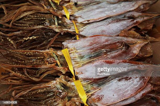 dried squid,korea food - runphoto ストックフォトと画像