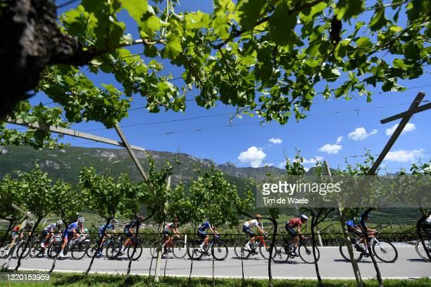 Dries De Bondt of Belgium and Team Alpecin-Fenix, Jacopo Mosca of Italy and Team Trek - Segafredo, Matteo Badilatti of Switzerland and Team Groupama...