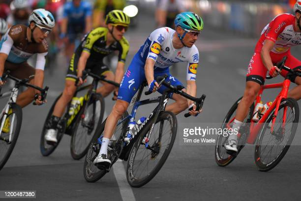 Dries Devenyns of Belgium and Team Deceuninck - Quick-Step / during the 22nd Santos Tour Down Under - Schwalbe Classic a 51km race from Adelaide to...