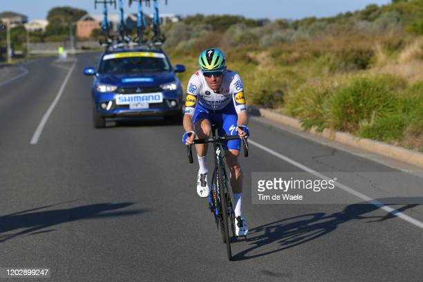 Dries Devenyns of Belgium and Team Deceuninck - Quick-Step / during the 4th Towards Zero Race Torquay 2020, Men Elite 130km race from Torquay to...