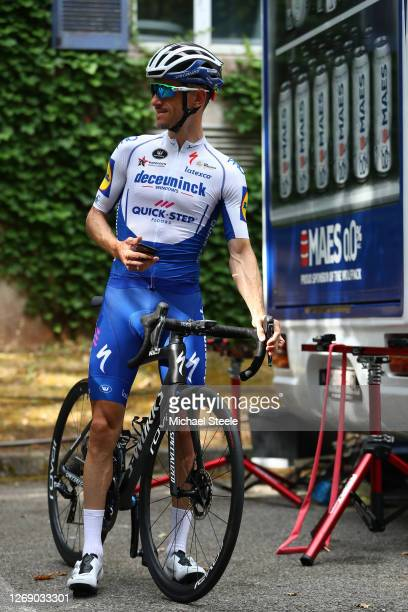 Dries Devenyns of Belgium and Team Deceuninck - Quick-Step during the Team Deceuninck - Quick-Step - Training / #TDF2020 / @LeTour / on August 27,...
