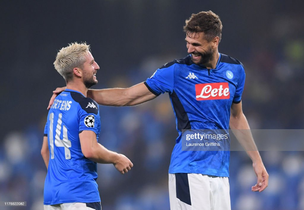 SSC Napoli v Liverpool FC: Group E - UEFA Champions League : News Photo