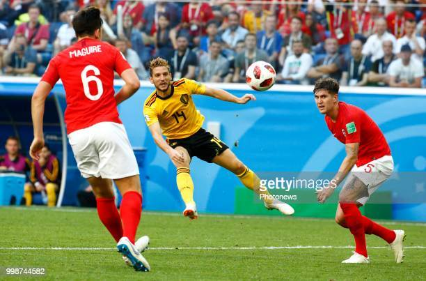 Dries Mertens forward of Belgium during the FIFA 2018 World Cup Russia Playoff for third place match between Belgium and England at the Saint...