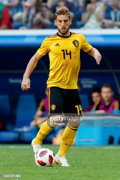 Dries Mertens of Belgium controls the ball during the 2018 FIFA World Cup Russia 3rd Place Playoff match between Belgium and England at Saint...