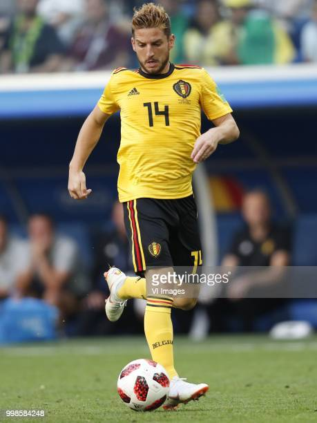 Dries Mertens of Belgium during the 2018 FIFA World Cup Playoff for third place match between Belgium and England at the Saint Petersburg Stadium on...