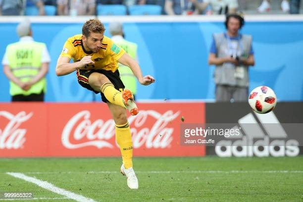 Dries Mertens of Belgium during the 2018 FIFA World Cup Russia 3rd Place Playoff match between Belgium and England at Saint Petersburg Stadium on...