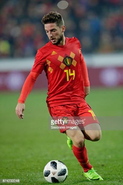 Dries Mertens of Belgium during the International Friendly match between Belgium v Japan at the Jan Breydel Stadium on November 14 2017 in Brugge...