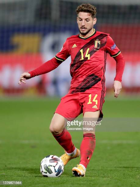 Dries Mertens of Belgium during the UEFA Nations league match between Belgium v Denmark at the King Baudouin Stadium on November 18, 2020 in Brussel...